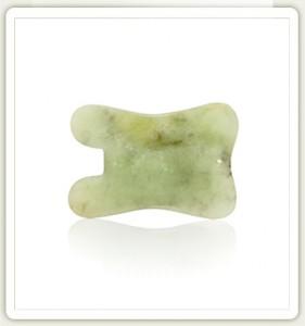 Нефритовый камень гуа-ша